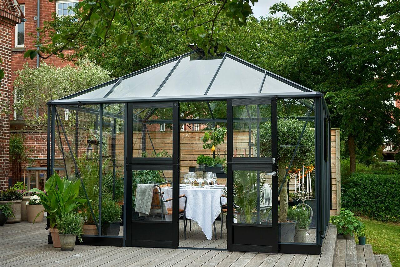 JULIANA Oasis 13,5m2 ORANŻERIA dodatkowy salon w ogrodzie