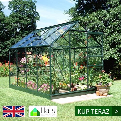 szklarnia ogrodowa Halls